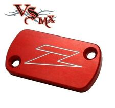 Zeta FRONT Brake Reservoir Cover RED Honda CRF150 07-16 CR125 CR250 02-07