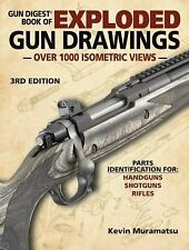 Gun Digest Book Exploded Gun Drawings New & Free Shipping