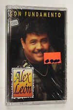 Con Fundamento by Alex Leon (1996) (Audio Cassette Sealed)