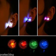 Lot/Set 5 LED Magnet Flash Fashion Hair Lights Earrings Halloween Party 5pcs