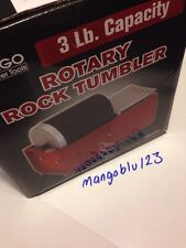 3 LB ROTARY ROCK / BRASS TUMBLER POLISHER BONUS KIT THUMLERS GRIT PACK & BELTS