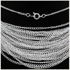 "10pcs Silver plated chain finding Long Necklace 22"",2mm S"