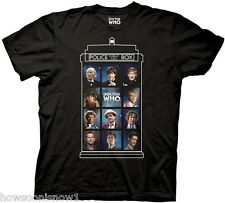 Dr Who 11 Doctors 50 Years T-Shirt Licensed Ripple Junction DWAS2397 NEW XXL