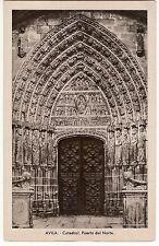 POSTAL ÁVILA. Catedral. Puerta del Norte Ref: TC00564