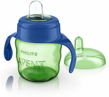 Philips Avent SCF551/15 Easy Sip Spout Cup with Handle (200 ml, Blue)