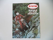 advertising Pubblicità 1979 MOTO SWM TRIAL