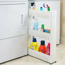 NEW! SLIDE OUT STORAGE ORGANIZER RACK - LAUNDRY/KITCHEN NARROW SLIDING TOWER