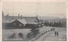 Sportsstuen Holmenkollen Norwegen Foto Postkarte gel. 1910