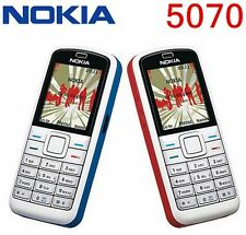 Original Nokia 5070 GSM 2G Unlocked Cheap Cell Phone