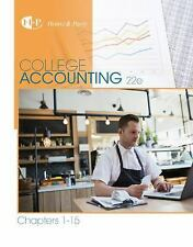 New in Accounting from Heintz and Parry: College Accounting, Chapters 1-15 by...