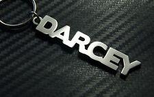 DARCEY nom personnalisé Porte-clé Sur-mesure porte-clé Acier Inoxydable Cadeau