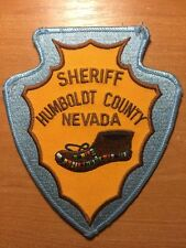 PATCH SHERIFF NUMBOLD COUNTY  - Nevada NV