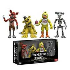 Five Nights at Freddy's Foxy Chica Golden Freddy Skeleton FUNKO Box Set 2016