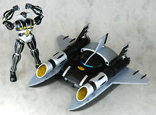 JEEG ROBOT D`ACCIAIO ARCADIA + BRAVE 37 BIG SHOOTER CMS BLACK VERSION LIMITED