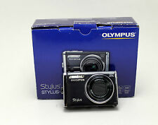 Olympus Stylus-9000 12.0 MP Digital Camera - Black 10x zoom 28mm wide w/ EXTRAS