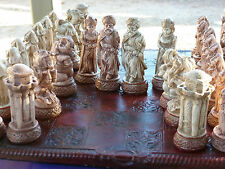 Arabian Nights Chess Set, Customisable Colours (Pieces only/Board not included)