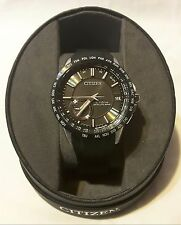 NWT $1075 Citizen Eco-Drive Satellite Wave World Time GPS CC3005-00E Mens Watch