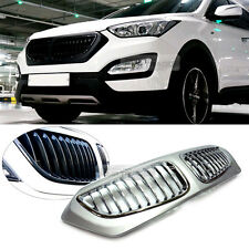 BMW Style Front Carbon Radiator Grille Painted For HYUNDAI 2013-2017 Santa Fe DM