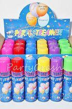 24 Cans Silly Goofy Crazy Prank Party String Spray Streamer Wedding Party