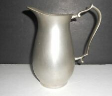 Vintage Woodbury Pewter Pitcher 7 inches Tall Primitive Woodbury Pewterers ATC