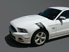 "FORD MUSTANG 4"" FENDER HASH STRIPES HIGH QUALITY 2 SETS VINYL STICKERS DECALS"