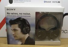 Sony Bluetooth Black Wireless Noise Cancelling Headphones Model#MDR-ZX770DC V150