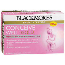 Blackmores Conceive Well Gold Tabs Caps 56 (28 + 28)