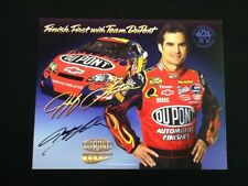 Jeff Gordon Autographed Signed 8 x 10 Picture / Post Card