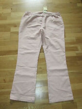 cotton traders soft blush pink crop jeans size 20 leg 33 brand new with tags
