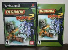 Digimon Rumble Arena 2 - PS2 Playstation 2 - Manual and Case only