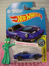 Case D 2016 i Hot Wheels Need Speed NISSAN FAIRLADY Z #184✰Blue✰SPEED GRAPHICS