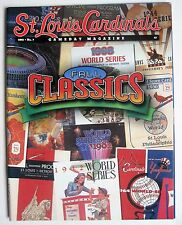 St Louis Cardinals World Series Programs team photo Gameday Magazine 2001 No.7