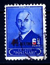 TURKEY - TURCHIA - 1945 - Ismet Inonu (1884-1973), secondo presidente