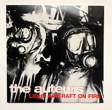 THE AUTEURS - LIGHT AIRCRAFT ON FIRE * 7 INCH VINYL * MINT * RARE * FREE P&P UK