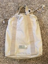 STELLA MCCARTNEY For Adidas Khaki Beige Nylon Tote Bag Gym Overnight