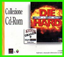 DIE HARD TRILOGY in ITALIANO pc cd rom giochi NUOVO SIGILLATO fox cto