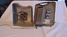 Keystone K75 K 75 8 mm Movie Projector w/ take up reel and cover
