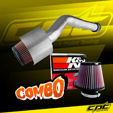 05-10 Jeep Grand Cherokee 3.7L V6 Polish Cold Air Intake + K&N Air Filter
