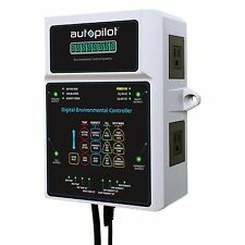 AutoPilot Digital Garden Temp Co2 Environmental Controller w/ Sensor | APCETHD
