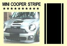 Mini/mini one/mini cooper bonnet rayures voiture vinyle graphique/decals stickers