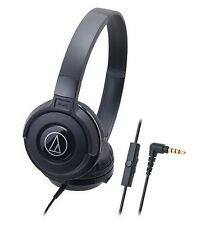 Audio-technica ATH-S100iS/BK headphone For Smartphones ATHS100iS Black