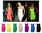 Sexy Quality Strapless Backless Bodycon Stretch Women Bandage Pencil Party Dress