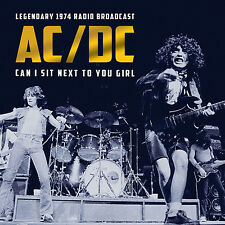 AC/DC w BON SCOTT New 2016 UNRELEASED 1st Tour 1974 LIVE CONCERT CD