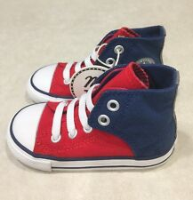 "CONVERSE ""CT All Star Easy"" High-Top Toddler Casino/Midnight Sneakers~~Size 7"