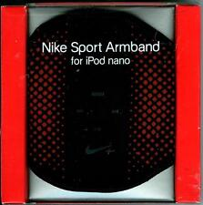 NIKE SPORT ARMBAND for iPod nano - Style AC1126 - Color 088 Orange/Black NIB