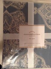 Pottery Barn Alana Medallion Duvet Cover Full/Queen New! Porcelain Blue