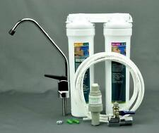 Complete set 1 micron two stages Under sink water filter quick connect cartridge