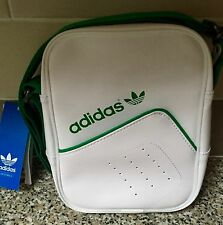BNWT ADIDAS ORIGINALS MINI WHITE SMALL ITEMS PERFORATED SHOULDER BAG AB2841