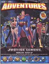 JUSTICE LEAGUE ADVENTURES VOL. 14 #4 - 2003 Burger King newsletter - Bruce Timm