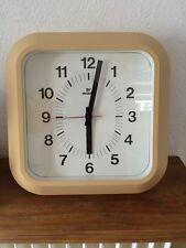 horloge pendule vintage VEDETTE  année 50 60 70 BEIGE